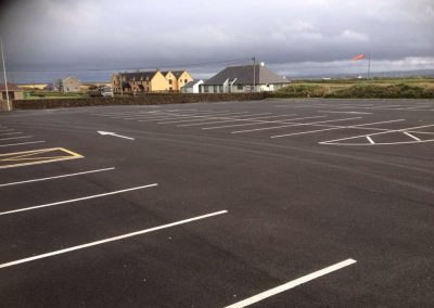 completed roadworks carpark -/ linemarking 4 - Prestige Tarmacadam