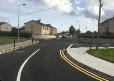 completed roadworks carpark -/ linemarking 1 - Prestige Tarmacadam