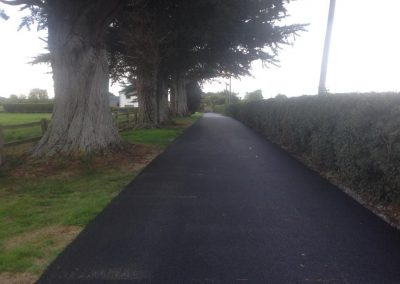 completed roadworks to farm 1  - Prestige Tarmacadam