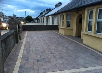 completed paving in house front - Prestige Tarmacadam