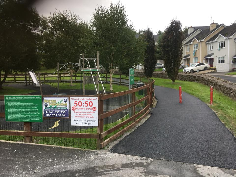 Park tarmac contract, Ballingary, Co.Limerick