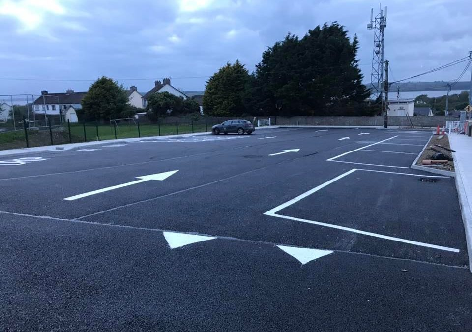 Completed Car Park in Glin, Co. Limerick